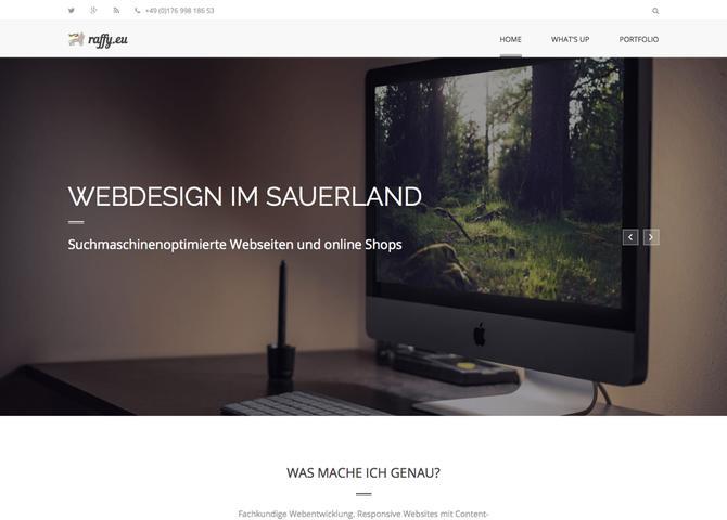 Webentwickler aus Arnsberg im Sauerland - Michael Raffenberg