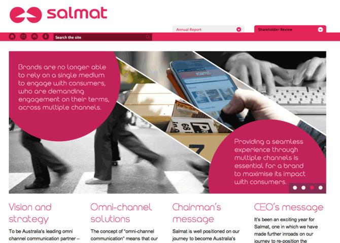 Salmat Annual Report 2012