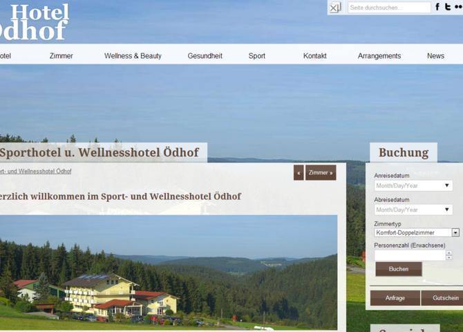 Hotel Ödhof - Sporthotel und Wellness-Hotel