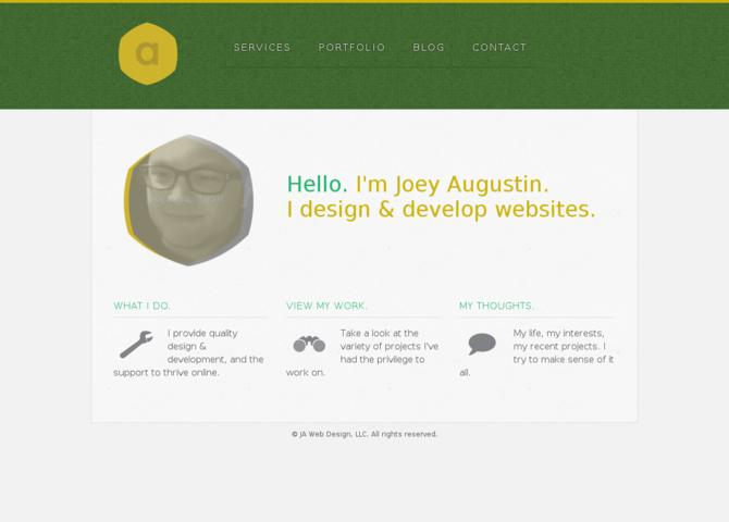 Joey Augustin Web Design