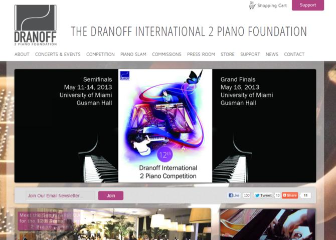 Dranoff Two Piano Internaitonal Foundation