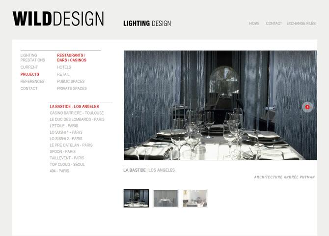Wild Design / Lighting Design