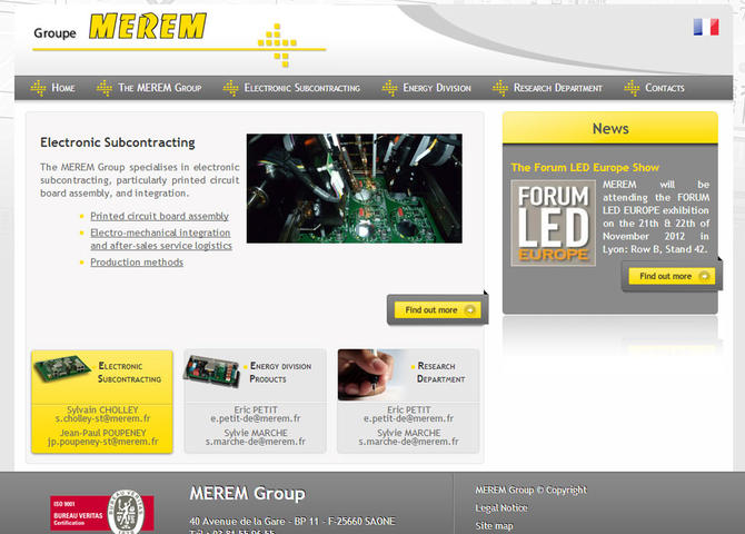Merem Electronic Subcontracting
