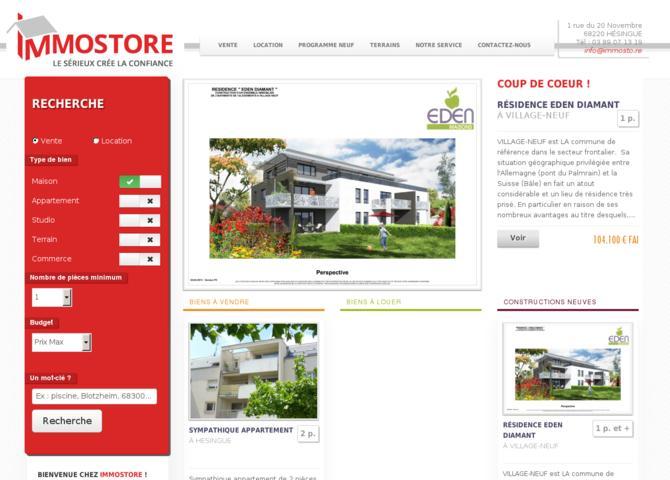IMMOSTORE - Agence Immobilière à Hésingue