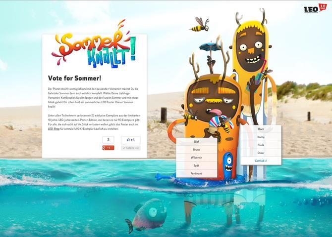 Vote for Sommer!