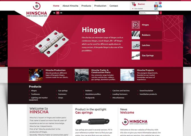 Hinscha - Expert in hinges and trailer parts