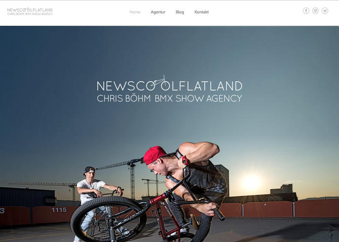 newscoolflatland — Chris Böhm BMX Show Agency