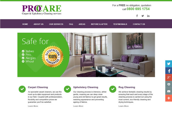 Carpet cleaning bucks - berks - oxon, hearts - london