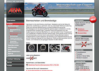 ABM - Superior motocycle products