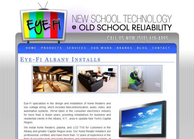 Eye-Fi - Albany Installs