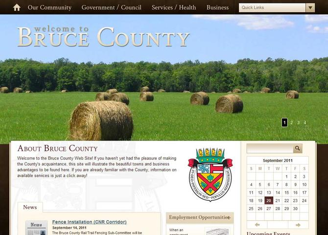 County of Bruce
