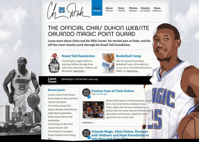 The Official Website of Chris Duhon