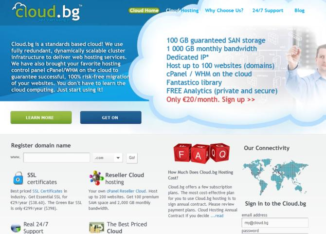 Cloud.bg - cPanel Cloud Hosting