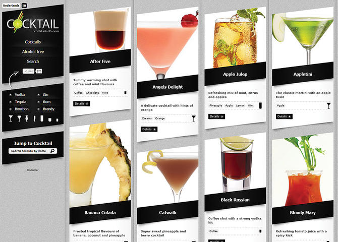 Cocktail Recipes DB
