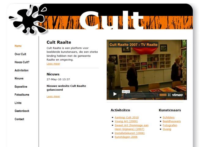 Cult Raalte - Cultureel Platform
