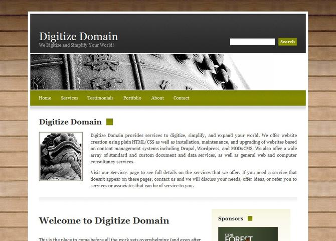 Digitize Domain