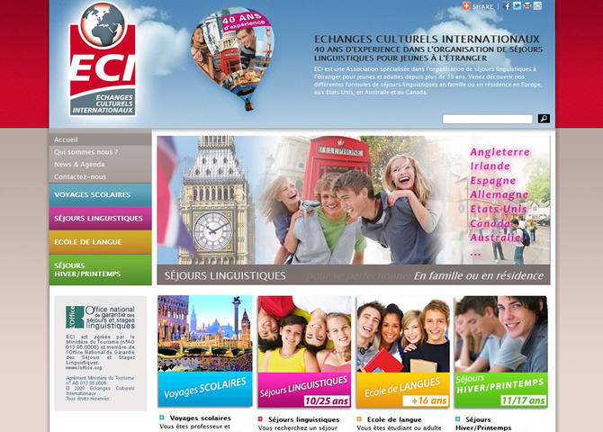 Echanges Culturels Internationaux