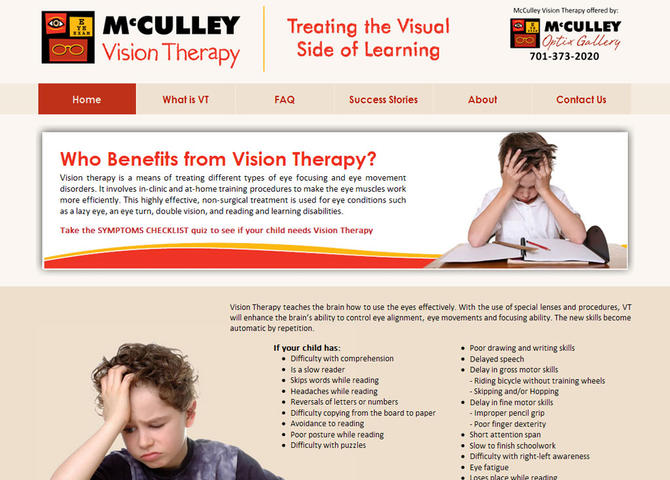 McCulley Vision Therapy