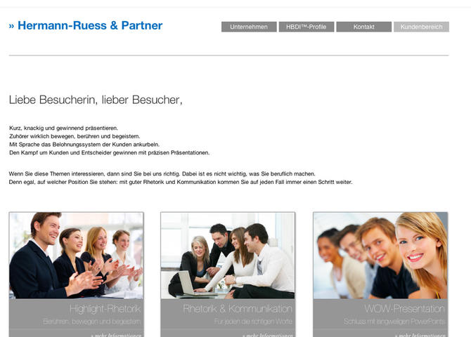 Hermann-Ruess & Partner - Coaching