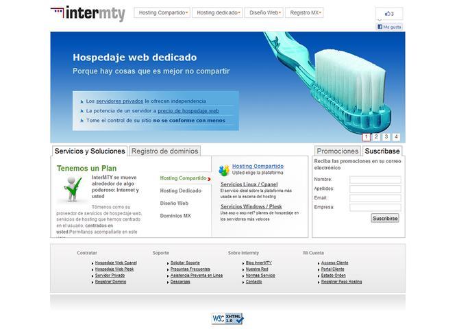 Hospedaje web hosting