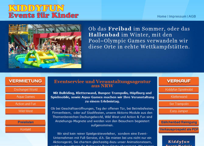 KIDDYFUN Events für Kinder