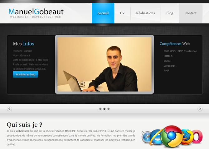 Portfolio Manuel Gobeaut