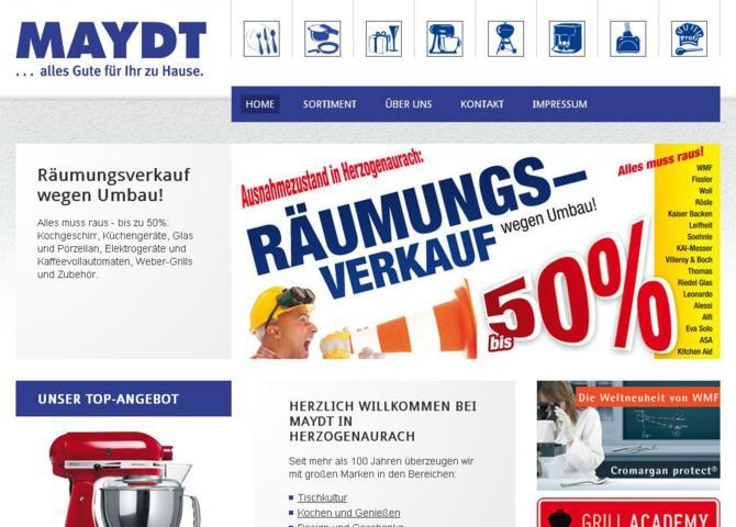 Maydt GmbH & Co KG - Alles Gute für ihr zu Hause
