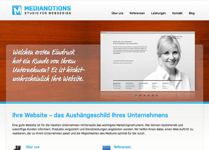 Medianotions – Studio für Webdesign