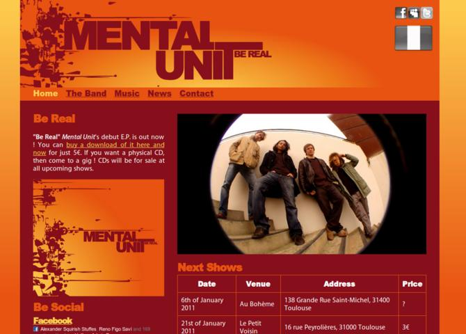 Mental Unit - Official Band Website