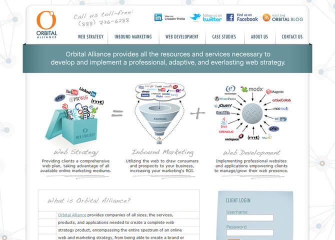 Orbital Alliance - A Web Strategy Company
