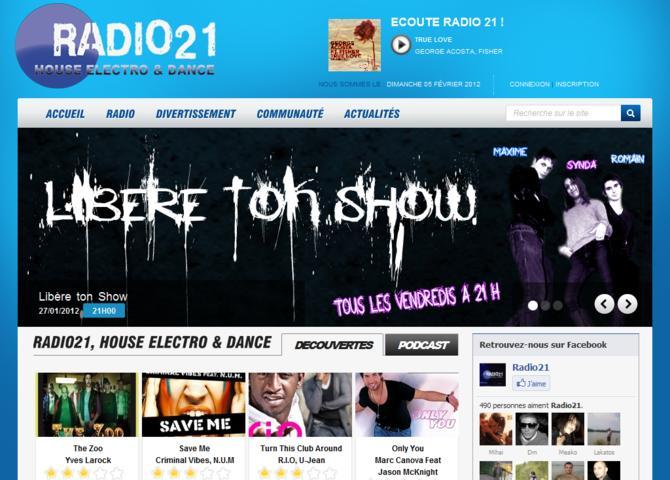 Radio 21 c'est ta référence en sons House, Electro & Dance