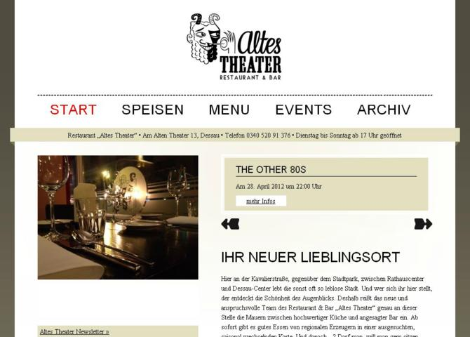 Restaurant Altes Theater
