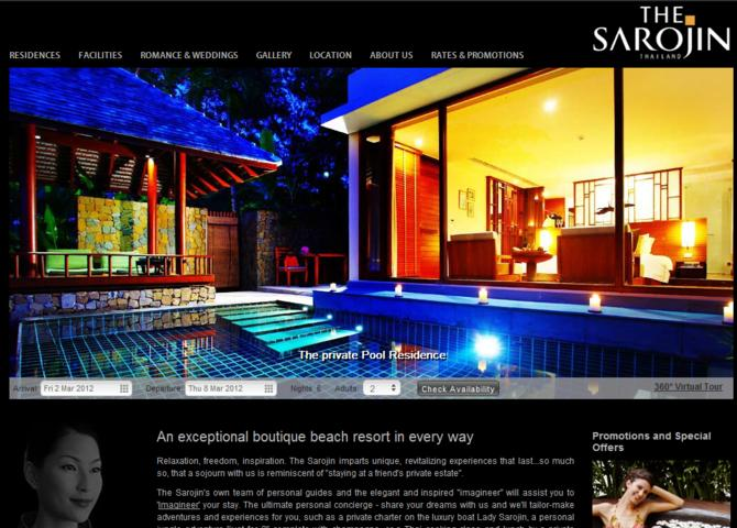 Sarojin Khao Lak Thailand Boutique Beach Resort | Luxury Beach Hotel
