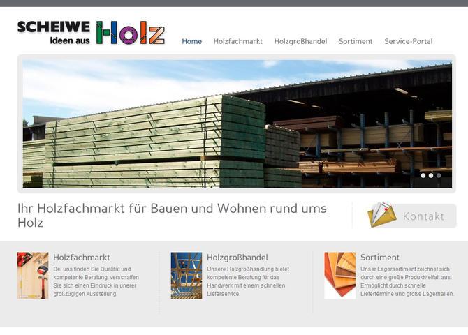 Scheiwe-Holz - Ideen aus Holz