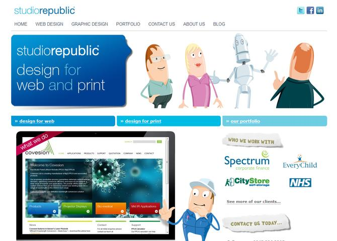 Studio Republic - Winchester Web Design Agency