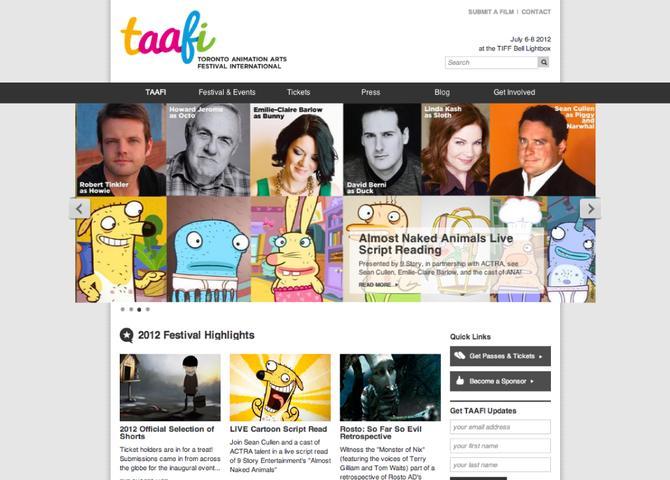TAAFI - The Toronto Animated Arts Festival International