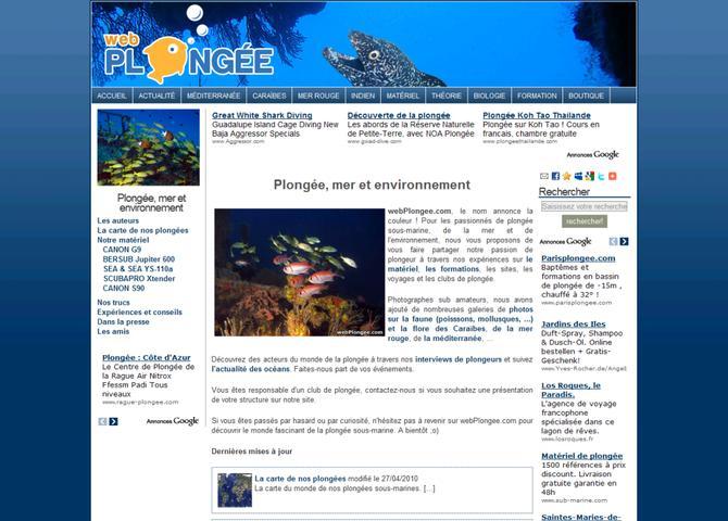 Plongée, mer et environnement