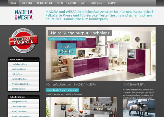 MADEIA-WESFA Küchenfachzentrum - Küchenfachzentrum