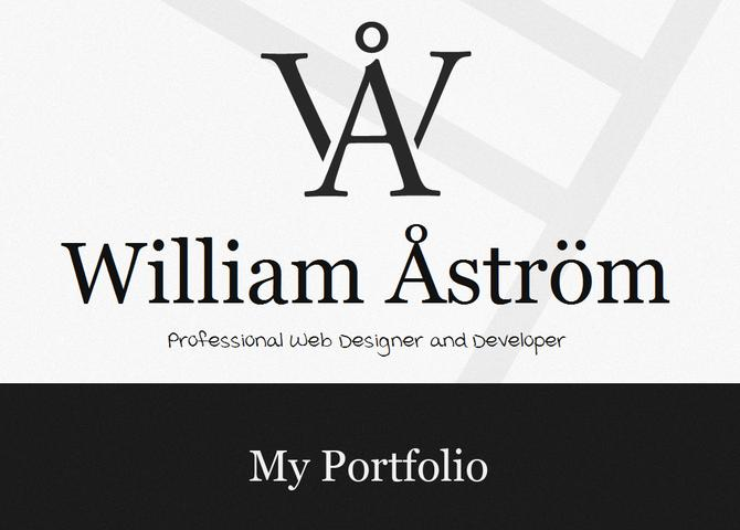 William Åström - Webdesigner and developer | Webbyrå in Stockholm