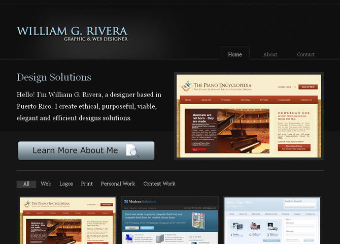 William G. Rivera | My Digital Porfolio | Graphic and Web Design Services in Puerto Rico