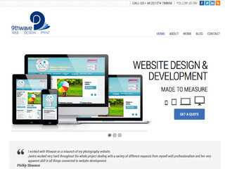 Website design and development Bradford