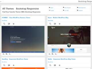 Find Your Favorite Themes With Bootstrap Responsive.