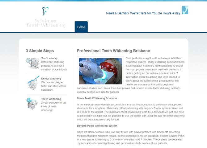Teeth Whitening Brisbane