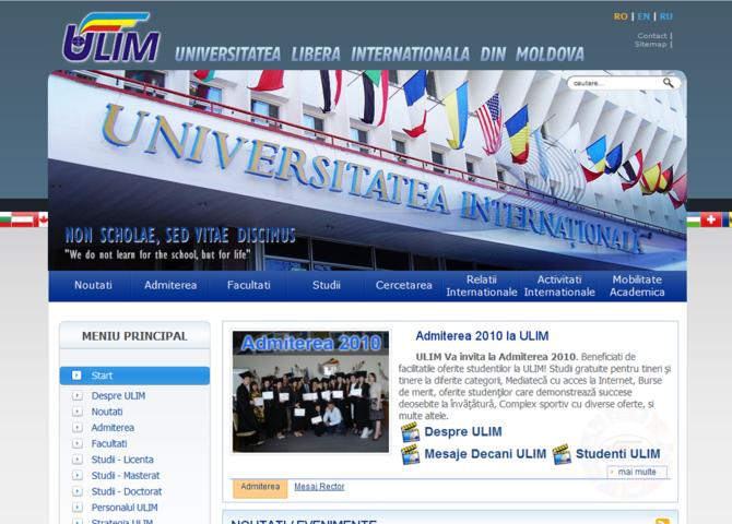 ULIM - Free International University of Moldova